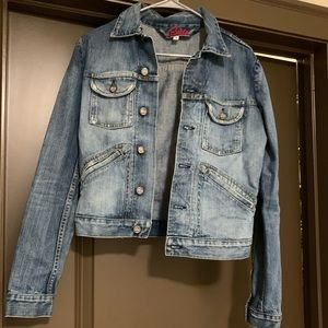 Blue Cult Jean Jacket | Size Small